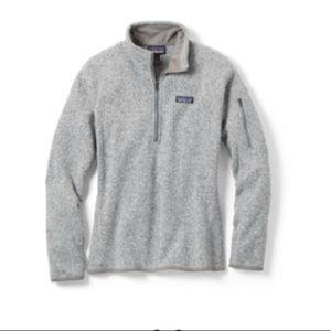 Grey Patagonia pullover